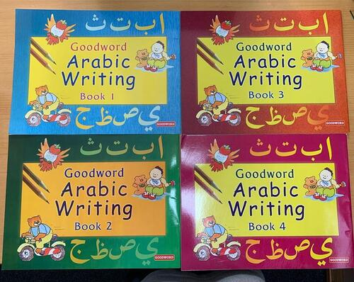 Arabic Writing Book 1-4