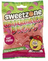 Water Melon Drops Sweetzone 90g