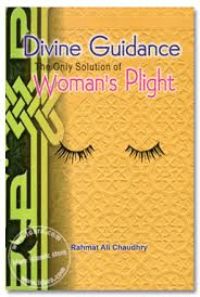 Divine Guidance the only solution of Woman's Plight