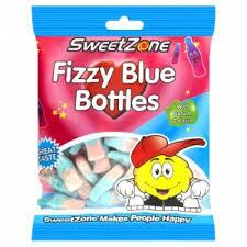 Fizzy Blue Bottles Sweetzone 90g