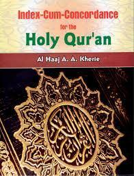 Index-Cum-Concordance for the Holy Quran