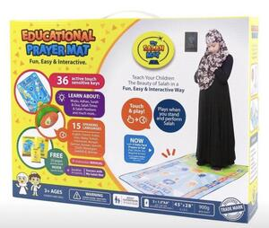 Educational Prayer Mat - My Salah Mat