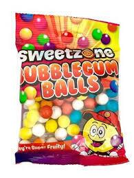 Bubble gum balls Sweetzone 90g