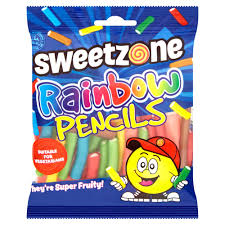 Rainbow Pencils Sweetzone 90g