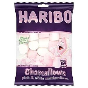 Chamallows pink and white Haribo 70g