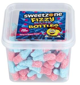 Fizzy Blue Bottles 180g Sweet Zone