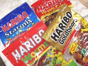 Haribo mix pose 4 x 160g
