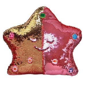 Flippable Sequins My Dua' Pillow – Rose & Gold