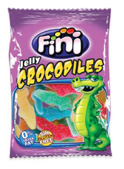 Jelly Crocodiles Sour Fini 75g